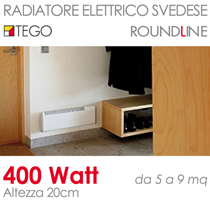 Riscaldamento elettrico svedese confortevole soggiorno for Termosifone elettrico a parete