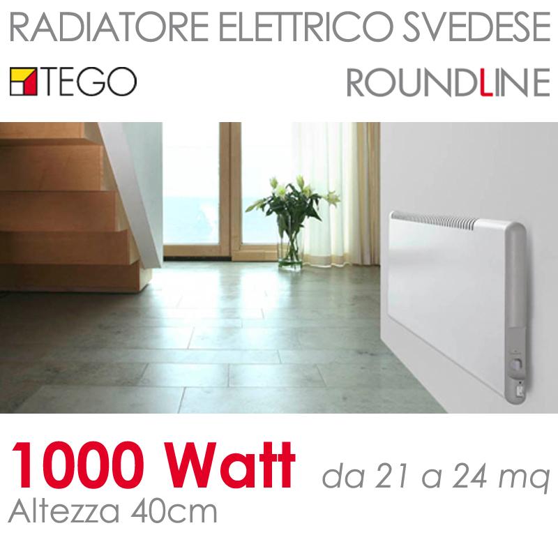 ke1000w40cm riscaldamento elettrico svedese