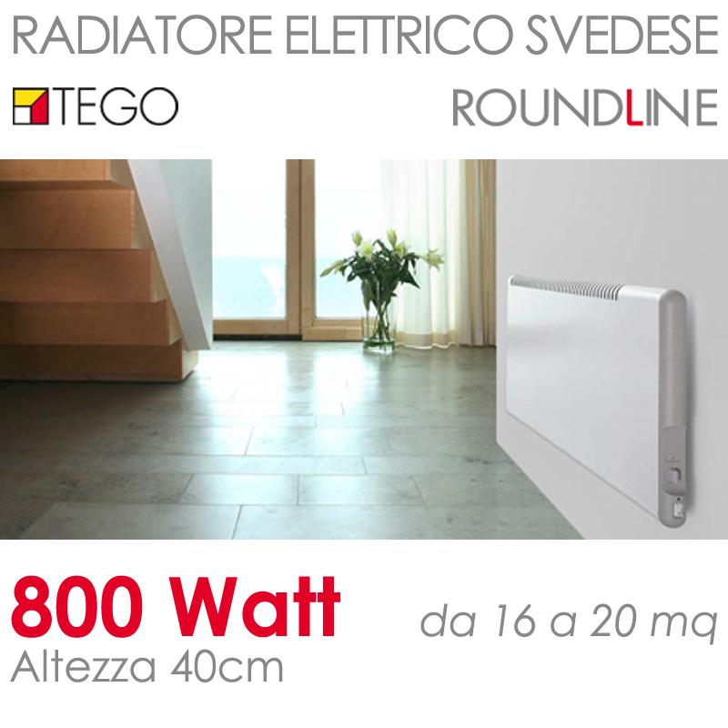 ke800w40cm riscaldamento elettrico svedese